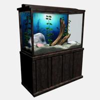 fish tank 3d model