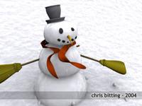 Good Old Classic Snow Man