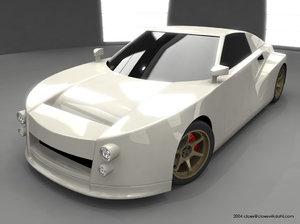 concept car 3d ma