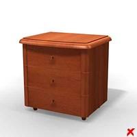 3d bed furniture model