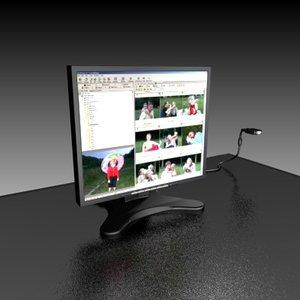 maya iiyama tft monitor