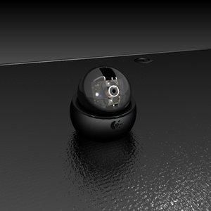 computer logitech orbitcam 3d model