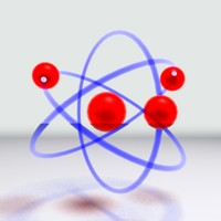 3d max orbiting atom