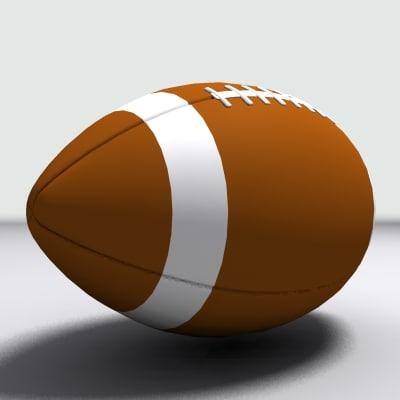 football ball 3d max