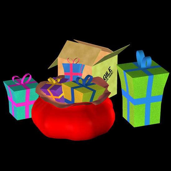 poser toon bag gift box