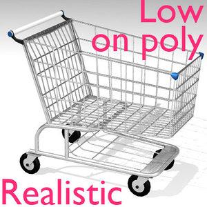 optimized shopping 3d model