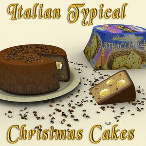 3d italian cakes