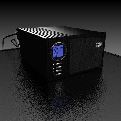 3d computer aquagate case model