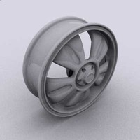 old style rim 3d max