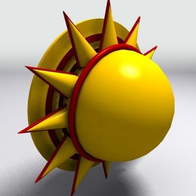 3dsmax sun