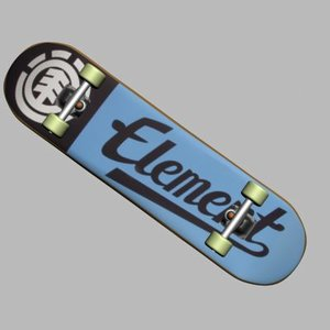 3d skateboard skates model