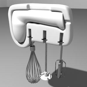 electric hand mixer 3d max