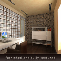 3ds max home office furniture