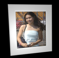 free picture frame metal 3d model