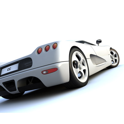 koenigsegg cc 3d model