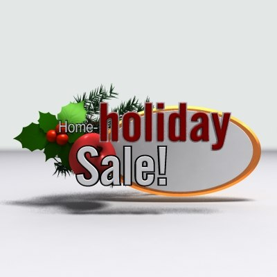 3d holiday sale