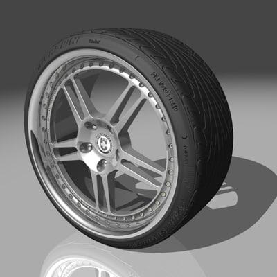 hre 447 wheel tires max