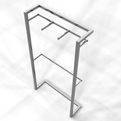3d model retail rack