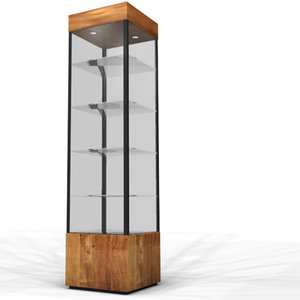 display case 3d max