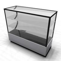 3d model retail case