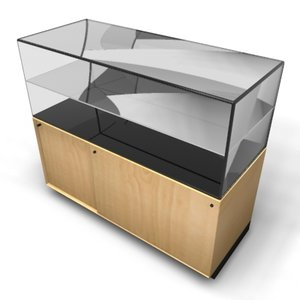 3ds max display case retail