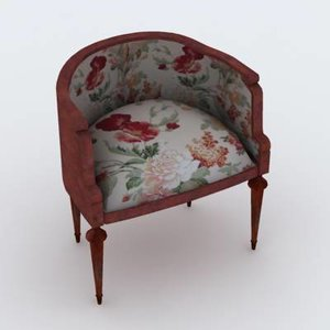 3dsmax classic chair
