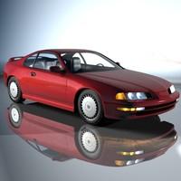 honda car 3d model