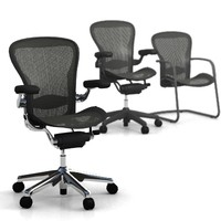 aeron chairs 3d model