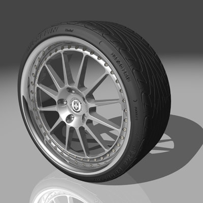 hre 448r wheel tires 3d max