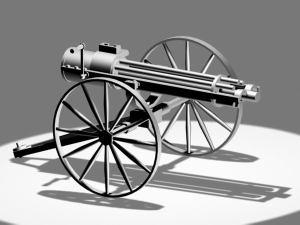 gatling gun max