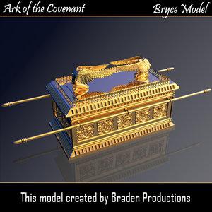 bryce modeled 3d model