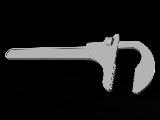 monkey wrench dxf free