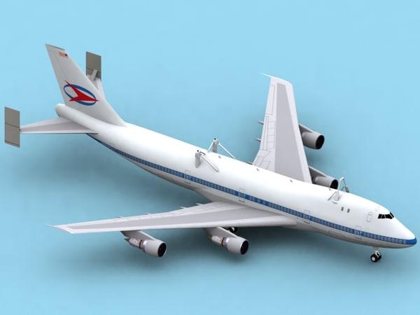 b 747 shuttle carrier 3ds