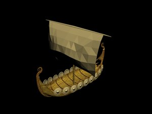 boat transport battle 3d model