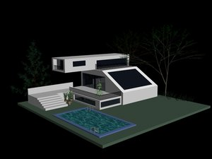 nano house 3d model