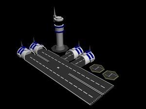 3dsmax nano airport
