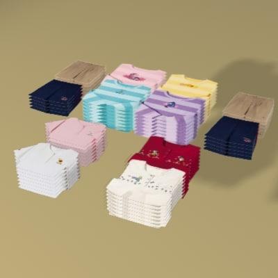 3d clothing retail model