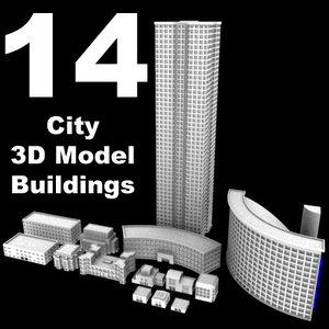 max 14 city buildings skyscraper