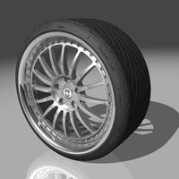 hre 549r wheel tires 3d max