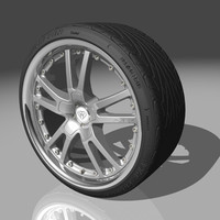 azev ps wheel tires 3d max