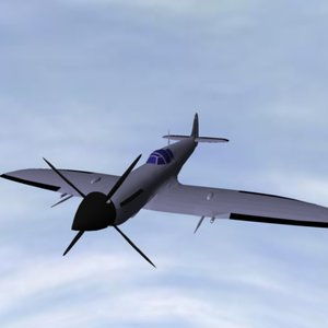 spit planes 3d model