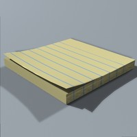 Sticky Note Pad.lwo
