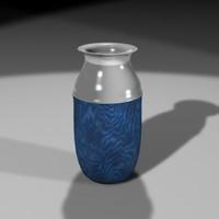 decorative vase 3d lwo