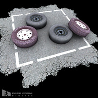 spare tire 3d model