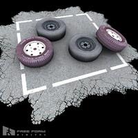 spare tire 3d model