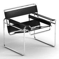 wassily armchair marcel 3d model