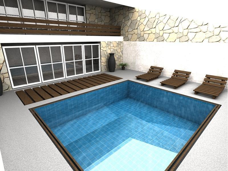 3d pool house
