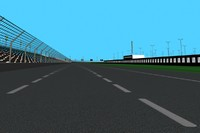 oval race track max