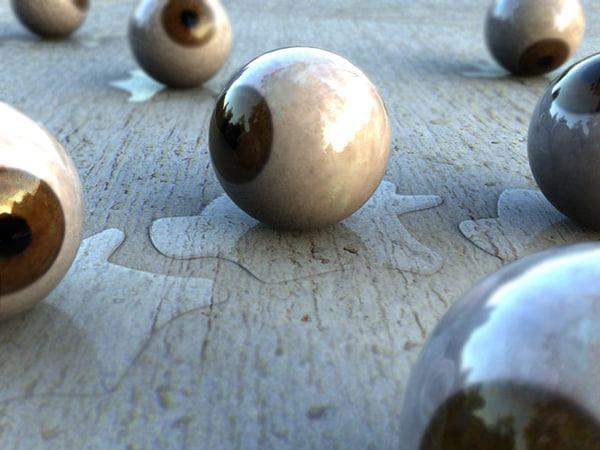 eyeball eye 3d 3ds