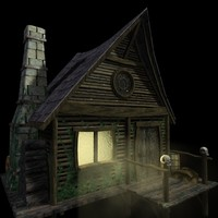3d vue witchhouse hexenhaus